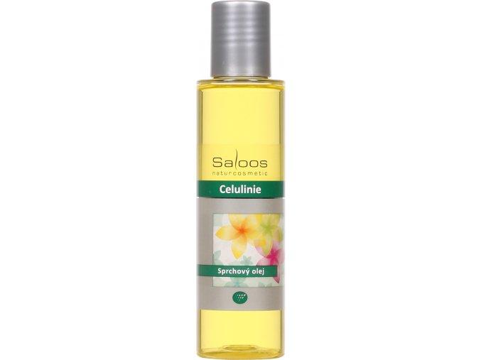 Saloos sprchový olej Celulinie