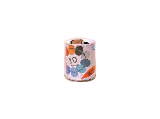 Aladine KIT Malé barevné polštářky - Metalíza