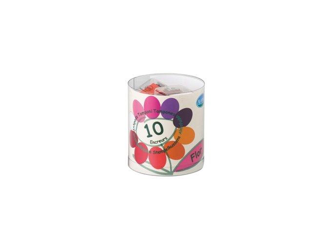 Aladine KIT Malé barevné polštářky - Květiny