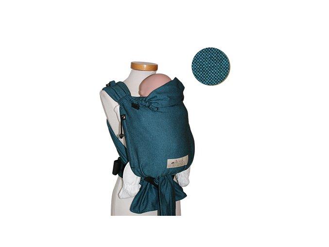 Storchenwiege Nosítko TYRKYS  + 1 pár návleků na nožičky či ručičky