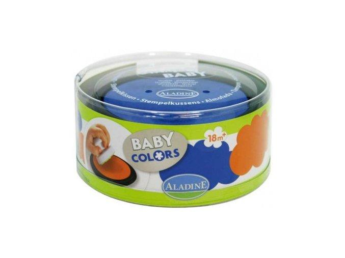 Aladine Tampominos Velké barevné polštářky - oranžová a modrá
