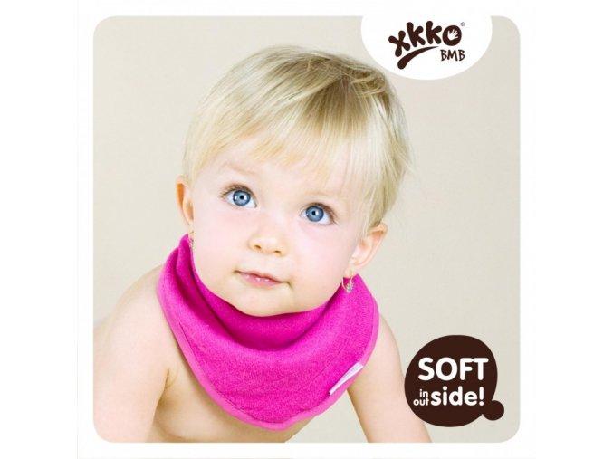 KIKKO®BMB Bambusový dětský slintáček/šátek