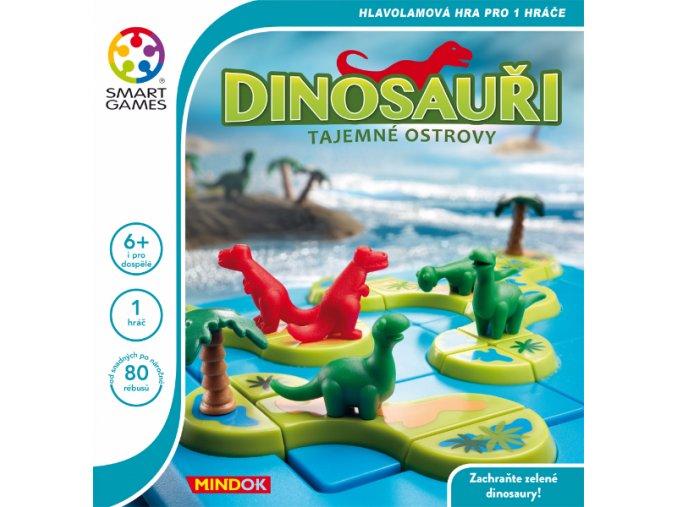 SMART Dinosauři - Tajemné ostrovy