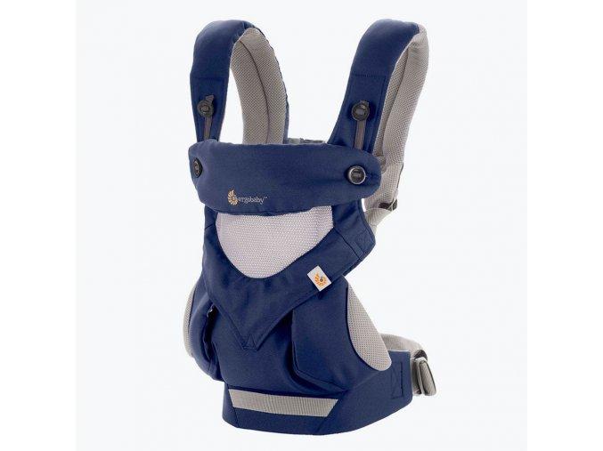 ERGObaby 360 Cool Air - French Blue  + 1 pár návlečků na nožičky