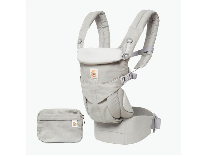 ERGObaby Omni 360 Pearl Grey  + 1 pár návleků na nožičky či ručičky