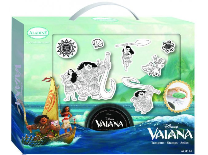 Aladine Disney kufřík s razítky - Princezna Viana