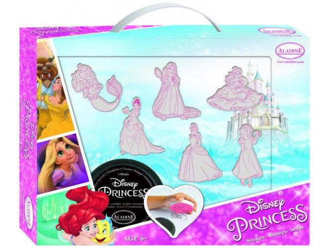 Aladine Disney kufřík s razítky - Princezny
