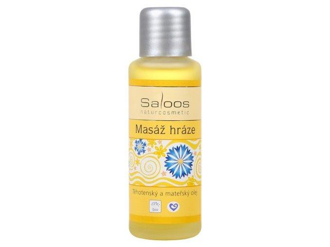 Saloos Olej na masáž hráze 50 ml
