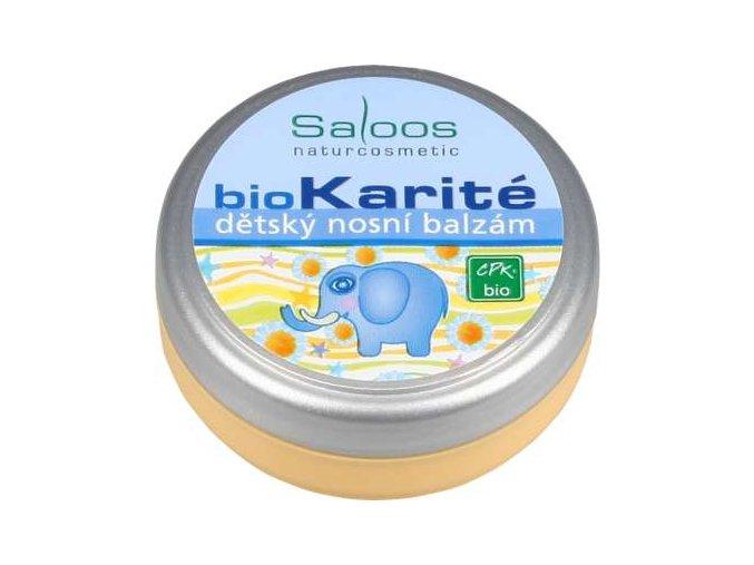 Saloos BioKarité dětský nosní balzám 19 ml
