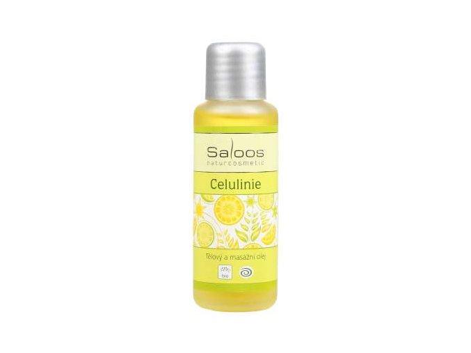 Saloos tělový a masážní olej Celulinie
