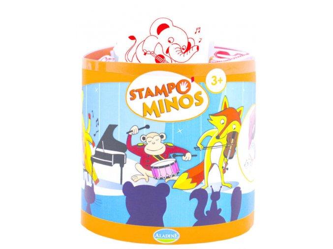 Aladine StampoMinos razítka - Hudební nástroje