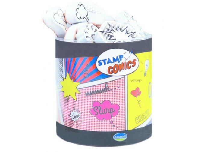 Aladine StampoFun razítka - Komiksy
