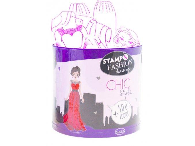 Aladine StampoFashion razítka -  City Chic