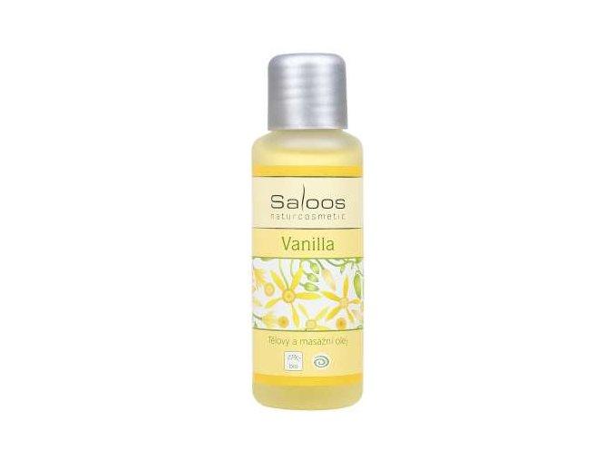 Saloos tělový a masážní olej Vanilla