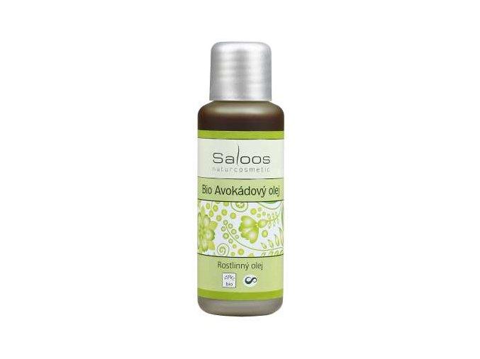 Saloos rostlinný olej Bio Avokádový olej