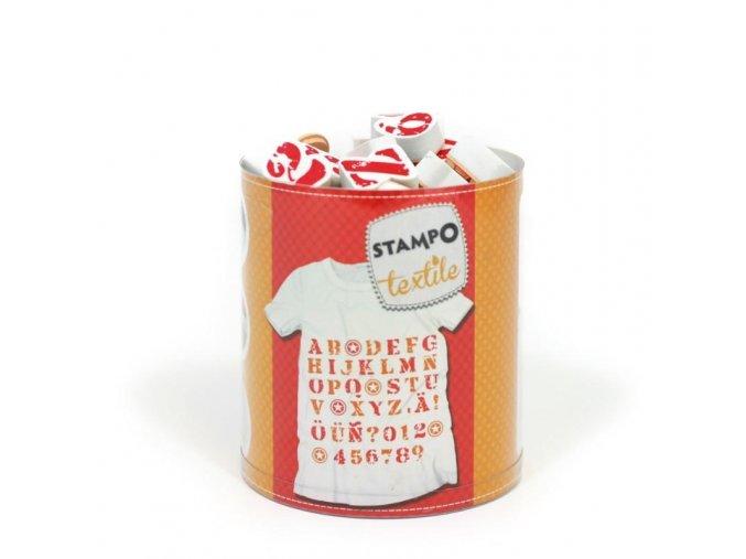 Aladine StampoTextile - Abeceda
