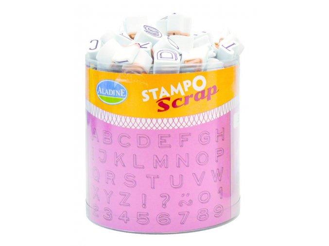 Aladine StampoScrap - Tři abecedy