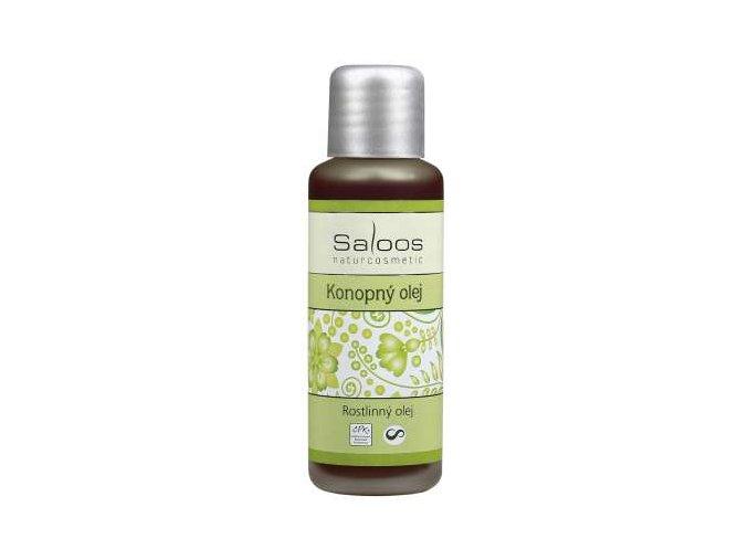 Saloos rostlinný olej Bio Konopný olej