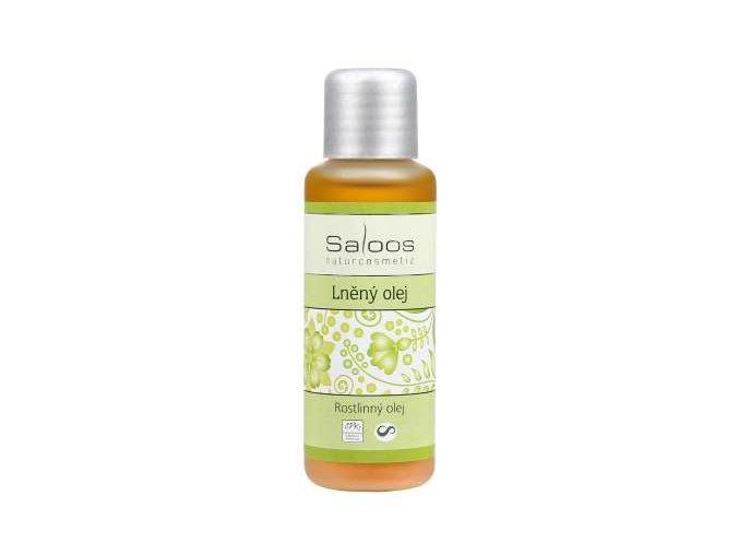 Saloos rostlinný olej Lněný olej