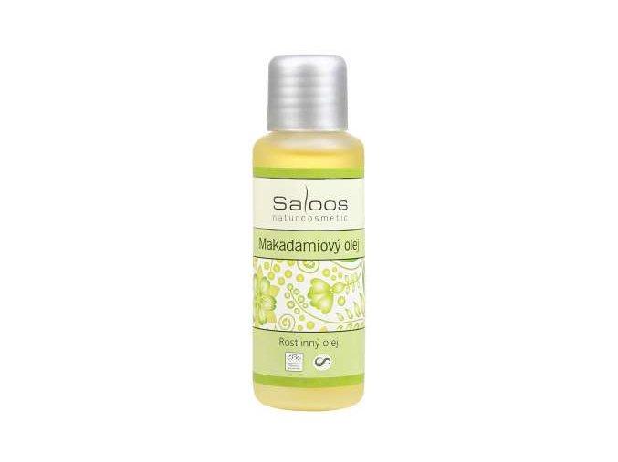 Saloos rostlinný olej Makadamiový olej