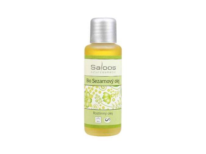 Saloos rostlinný olej Bio Sezamový olej