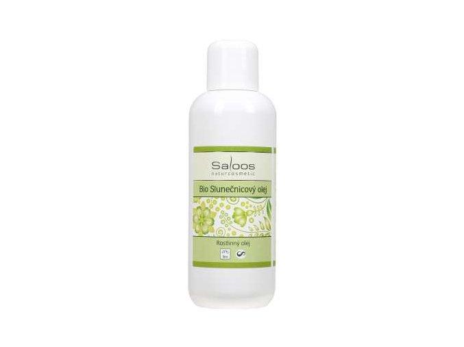 Saloos rostlinný olej Bio Slunečnicový olej