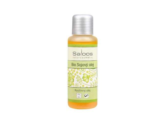 Saloos rostlinný olej Bio Sojový olej