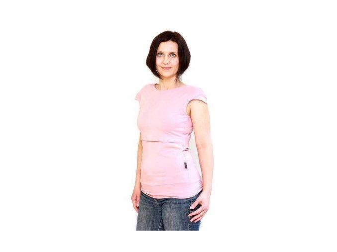 Adelay Kojící bambusové tričko s krátkými (mini) rukávy