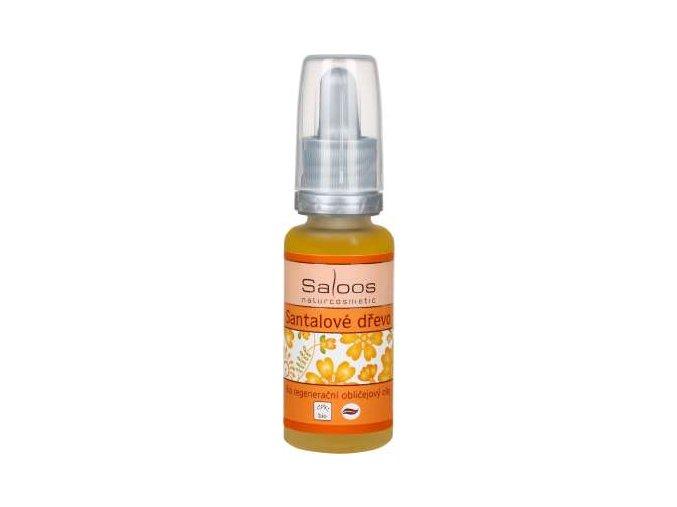 Saloos Regenerační obličejový olej Santalové dřevo 20 ml