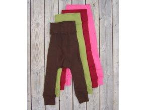 ManyMonths Wool longies - dlouhé vlněné kalhoty (Barva Clementine orange (starší velikosti - M), Velikost Explorer...6-12/18 měs.)