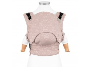 fusion fullbuckle baby carrier paperclips ash rose baby