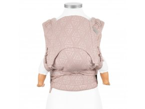 flyclick halfbuckle baby carrier paperclips ash rose baby