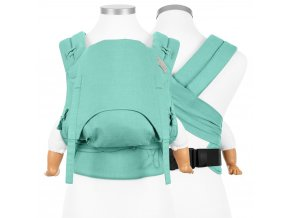 flowclick halfbuckle baby carrier chevron mint baby