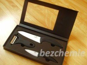 Vitapura Sada keramických nožů + škrabka
