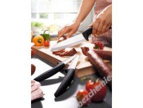 Vitapura Sada keramických nožů s černou rukojetí