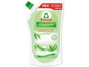 Frosch tekuté mýdlo náplň 500 ml Aloe Vera