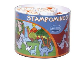 Aladine Stampominos razítka - Dinosauři