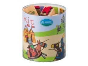 Aladine KIT 15 razítka - Rytíři