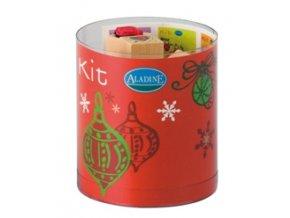 Aladine KIT 15 razítka - Veselé vánoce (Červené Vánoce)
