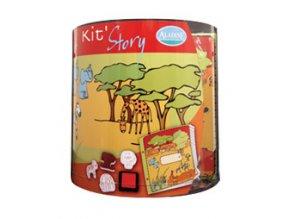 Aladine Story Kit výtvarný kufřík - Safari