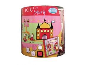 Aladine Story Kit výtvarný kufřík - Vílí svět
