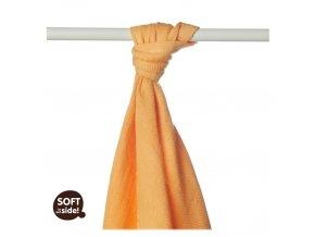 bambusova osuska xkko bmb orange 90x100cm 130