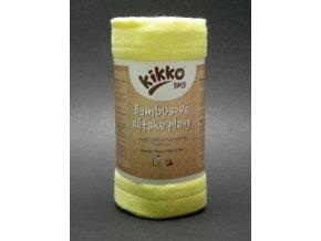 KIKKO®BMB Bambusové pleny (osuška) Colours 90x100cm - žlutá
