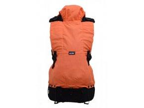 KiBi nosítko Oranžové pruhy  + 1 pár návleků na nožičky či ručičky