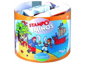 Aladine Stampominos razítka - Piráti