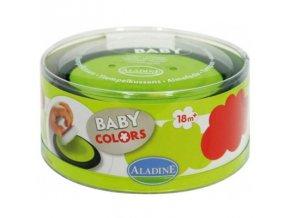 Aladine Tampominos Velké barevné polštářky - zelená a červená