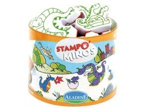 Aladine Stampominos razítka - Dráčci