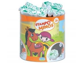 Aladine Stampominos razítka - Koňská farma