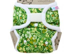 Petit Lulu Svrchní kalhotky jednovelikostní na suchý zip