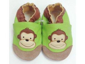 TAPTAPI kožené capáčky - Opička Lulu